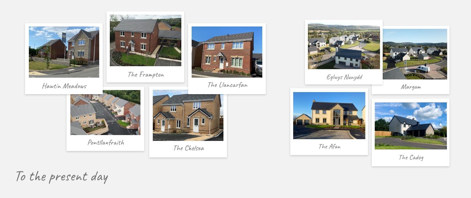 Llanmoor Homes History