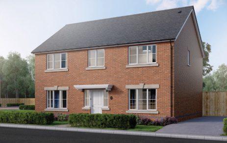 Llanmoor Homes Oakfield 4 Bedroom brick house